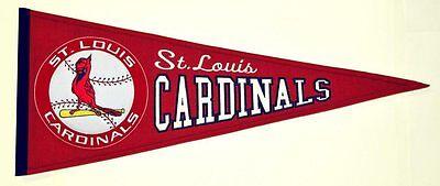 Unsicher Louis Cardinals Banner Großer Wimpel Pennant Heritage Wolle Verlegen Mlb Baseball St Befangen Gehemmt Selbstbewusst