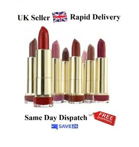 RRP-7-99-Max-Factor-Colour-Elixir-Lipstick-Sealed-Choose-Your-Shade