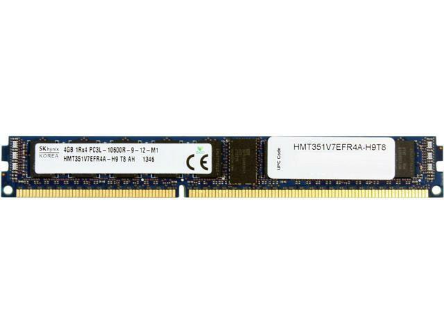 Hynix 4GB 240-Pin DDR3 SDRAM Registered DDR3 1333 (PC3 10600) Server Memory Mode
