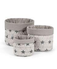 Mamas & Papas - Star Nursery Baskets - Set of 3