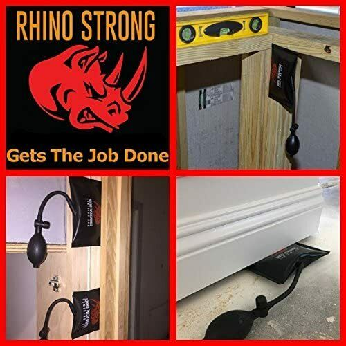 2 pack Shim The Original Rhino Strong Commercial Grade Air Wedge Lift Tool