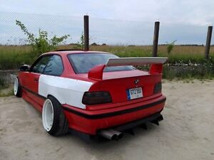 bmw e36 fenomy style over fenders wings body kit ebay. Black Bedroom Furniture Sets. Home Design Ideas