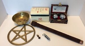 Metaphysical-Wiccan-Miscellaneous-Items-Lot-3