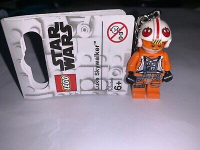 2019 Brand New Lego Luke Skywalker Keyring Star Wars - 853947