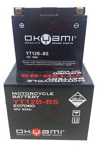 Bateria-OKYAMI-YT12B-BS-12V-10Ah-Moto-Guzzi-Daytona-Rs-V10-Centauro-1000