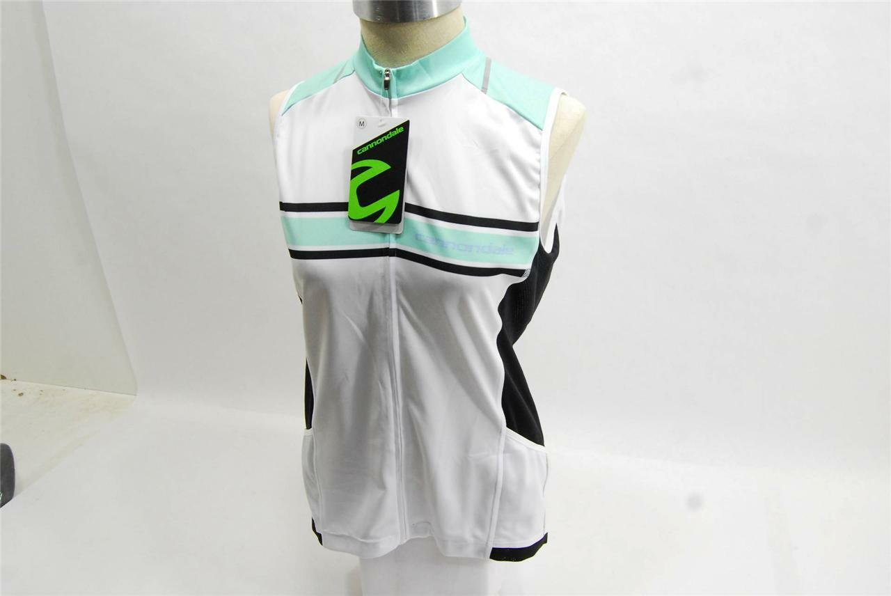 2015 Cannondale Para Mujer Endurance sin mangas camiseta SMS 5f135m-Mediano-Nuevo