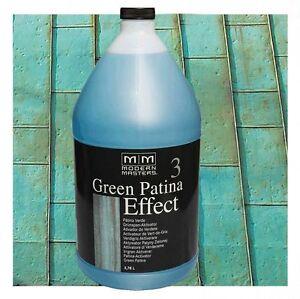 Kupfer Grüne Patina green patina kupfer grün 3 78l modern masters patina aktivator