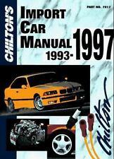 Chilton's Import Car Repair Manual, 1993-97 - Perennial Edition (Chilt-ExLibrary