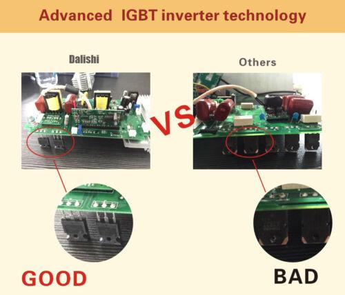 TIG MMA Welder Welding Machien IGBT 200A DC Interver 3.2 Rod /& Free Accessories