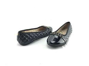 NEW-Ivanka-Trump-Women-s-Black-Slip-On-Comfort-Ballet-Flats-US-5-M-Shoes-A88