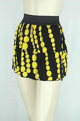 Best Savings for Poly Span Elastic Waist Aline Skater Mini Skirt Juniors LARGE S20128