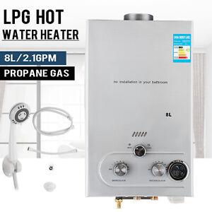 Durchlauferhitzer Warmwasserbereiter Natural Gas 8L Warmwasserspeicher Boiler
