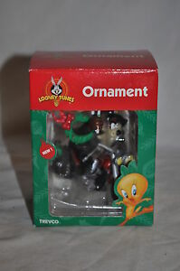 1999 LOONEY TUNES TAZ RIDING MOTORCYCLE CHRISTMAS ORNAMENT ...