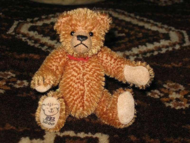 UK Maria Adams Fergus Fips Mohair Bear 1132  3000