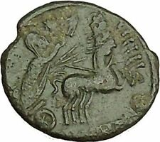 CONSTANTINE I the GREAT Cult  Heaven Horse Chariot Ancient Roman Coin i40207