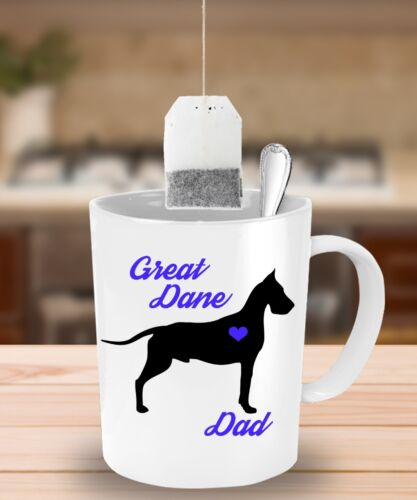 Great Dane Dad Great Dane Mug Cute Coffee Cup Gift For Dog Lovers
