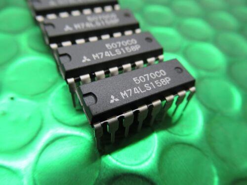 DIP16 Mitsubishi Chip IC sólo 70p por SN74LS158N 6 X M74LS158P 74LS158