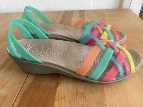 Crocs Sandals 9 Jelly Huarache