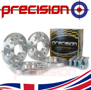 15mm Wheel Adapter 5x100 Hub to 5x112 Wheel 2 Pairs with Bolts Nuts VW Golf