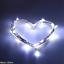 2M-Battery-Operated-20-LED-string-fairy-silver-light-wire-Halloween-xmas thumbnail 3