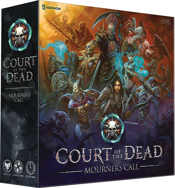 NEW  Court of the Dead - Mourners Call Board Game FACTORY SEALED