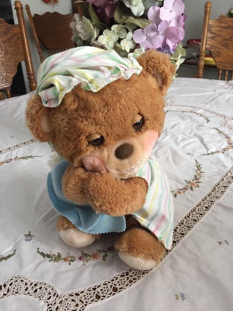 Vintage Fisher Price Teddy Beddy  Bear Plush  11