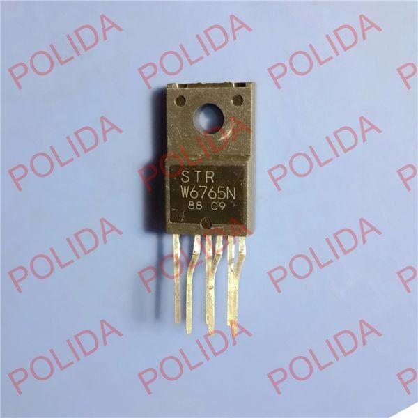POWER REGULATOR IC SANKEN TO-220F-6 STR-W6765N STRW6765N W6765N NEW