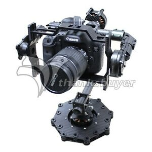 New Brushless 3 Axis Camera Mount Fpv Stabilized Gimbal