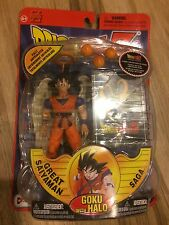 Dragon Ball Z Irwin toys Goku DBZ Halo Great Saiyaman Saga action figure NIB