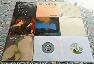 9-X-Roxy-Music-8-Bryan-Ferry-1-7-034-Singles-7-Picture-Sleeves-Vinyl-8-EXC-1-VG