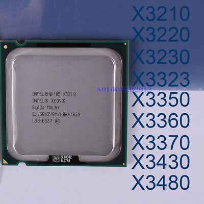 Intel Xeon X3210 X3220 X3230 X3350 X3360 X3370 Quad-Core LGA 775 Processor CPU