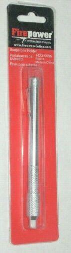Victor Firepower 1423-0096 Round Soapstone Holder w Soapstone /& Pocket Clip