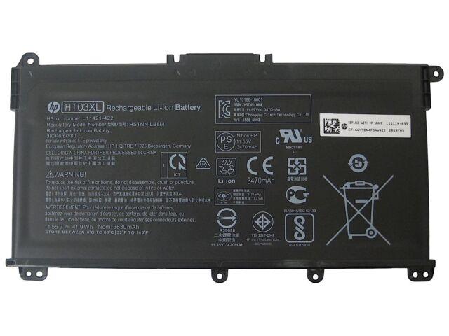 Genuine HP 15-CS 15-CW 15-DA 15-DB Battery 11.55V HSTNN-LB8M L11119-855 HT03XL