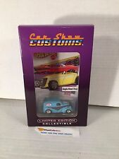 Anglia Panel Truck TEAL ISCA Car Show * Hot Wheels w/ Real Riders * L21