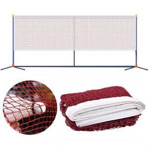 Badminton Net Volleyball Tennis Net Standard Training Outdoor Garden Sports