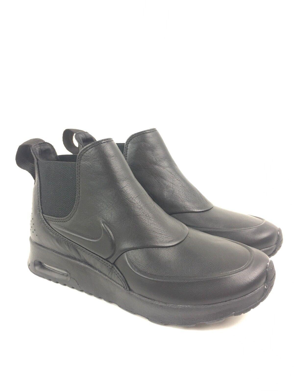 Nike Womens Air Max Thea Mid Pinnacle Shoes Size 5.5 Black 861659-001 Boots A162