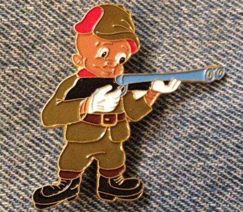 Elmer Fudd Enamel Brooch Pin~Brown~Hunting Wabbits~Looney Tunes~Warner Bros.