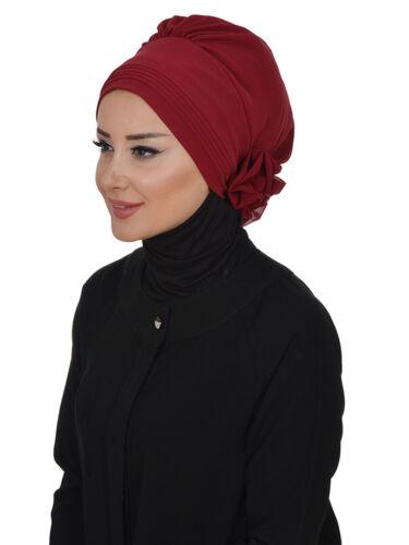 Ht-31 fini foulard pratiquement Hijab Mousseline türban esarp Sal Tesettür Khimar