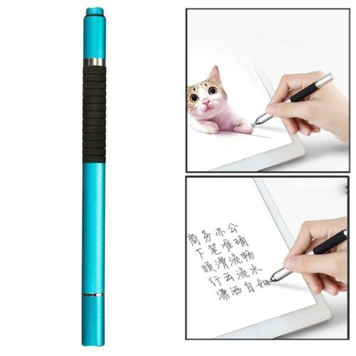 1x 2 in1 Capacitive Touch Screen Stylus Ballpoint Pen For iPad iPhone Samsung GU