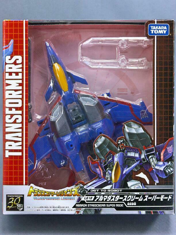 Trans Formers Lg Armada Star Scream Super Mode