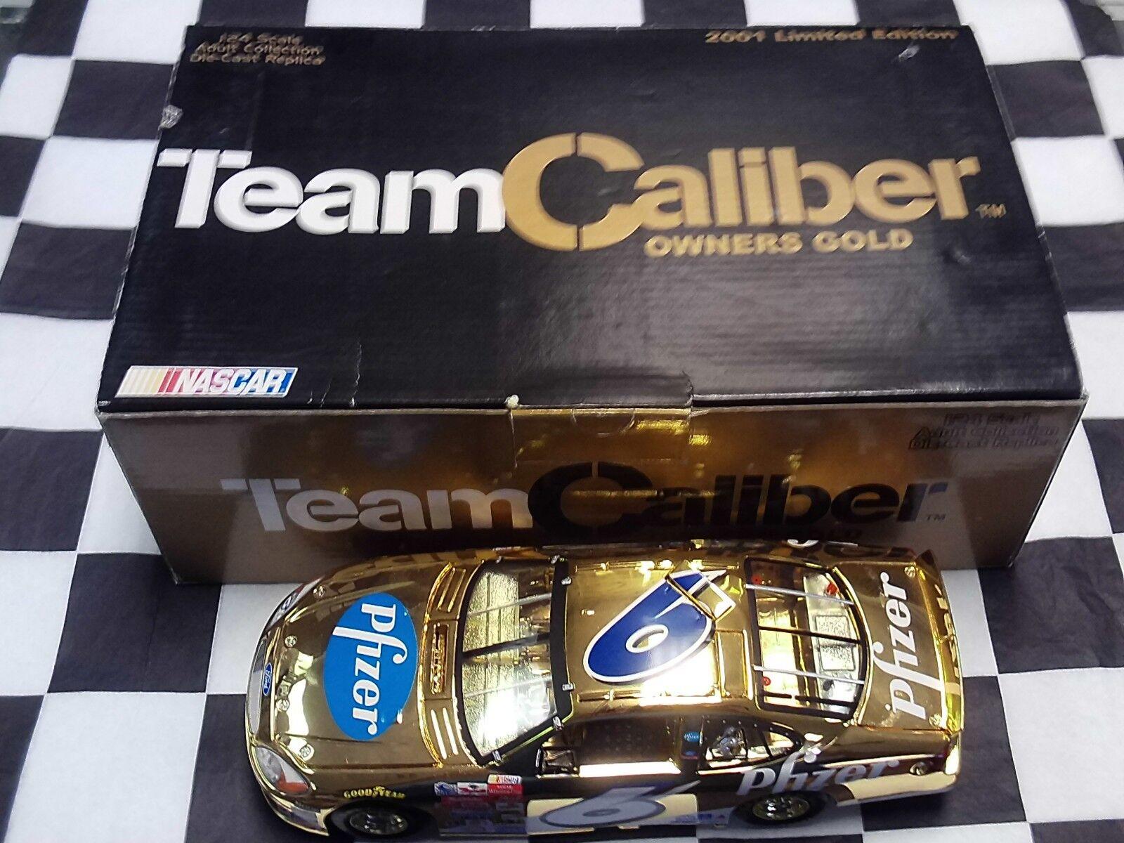 ahorra hasta un 30-50% de descuento Mark Martin  6 Pfizer 2001 Taurus 1 24 equipo equipo equipo de calibre propietarios de oro G062063PF Nuevo En Caja  ventas al por mayor