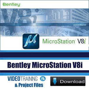 Details about Bentley Microstation V8i , V8i Level 2 And V8i 3D Video  Training 3 Courses Pack