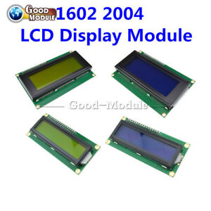 1602-2004-Blue-Yellow-IIC-I2C-TWI-SP-I-Interface-Character-LCD-Module-Display