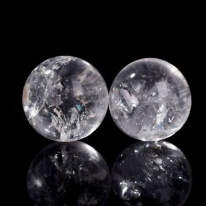 Details about NATURAL RAINBOW CLEAR QUARTZ CRYSTAL SPHERE BALL HEALING  GEMSTONE 40mm