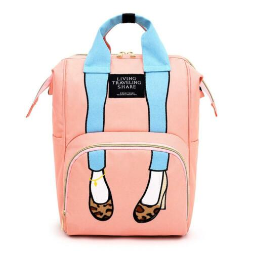 Baby Diaper Nappy Changing Mummy Bags Large Rucksack Handbags Maternity Backpack