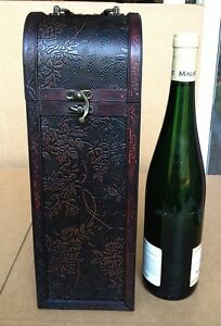Smart Exquisite Vintage-style Single Wine Storage Wine Bags, Boxes & Carriers Hf 032 B Woodenware