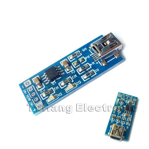 New 5V Mini USB 1A Lithium Battery Charging Board Charger Module IN 4V-8V