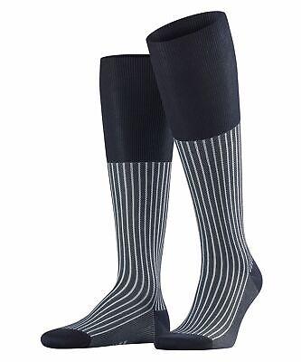 Falke Oxford Stripe Men Knee Socks #15749 Striped Men/'s Knee Stockings