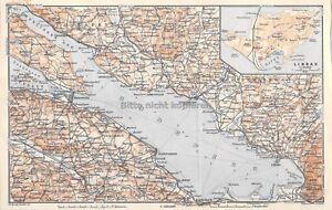 Bodensee Friedrichshafen Lindau Schweiz Um 1897 Historische Alte