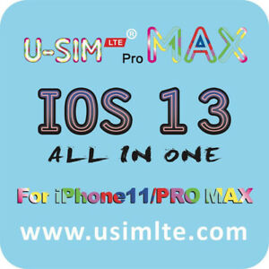 Hot-U-Sim-LTE-parfait-Deverrouiller-Carte-SIM-Turbo-Smart-Phone-Card-Autocollant-pour-iPhone